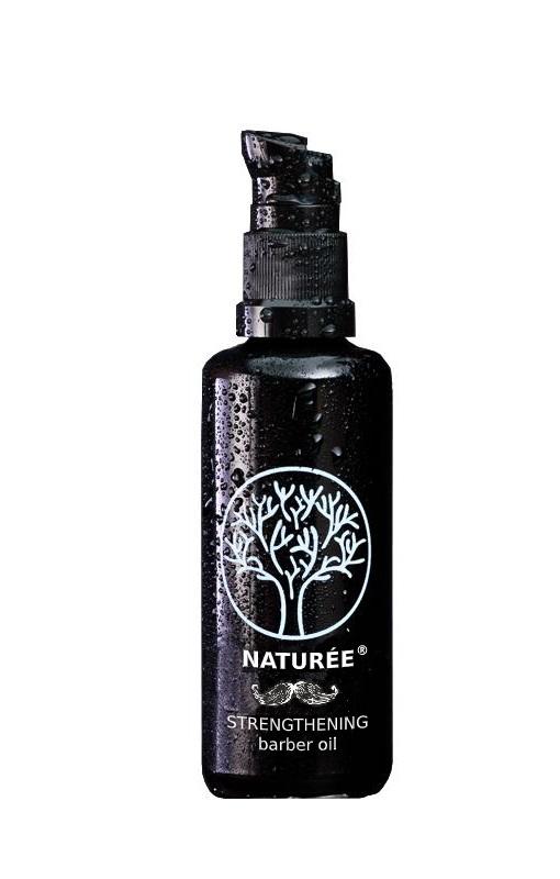 Stiprinamasis barzdos plaukų ir odos aliejus, 50ml